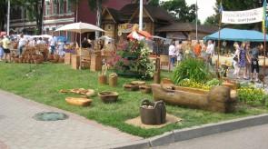 10. Zadvinskij kirmaš, Slavianskij bazaar, Vitebskas, Baltarusija.
