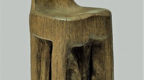 31. Small chair. Oak. h 45.