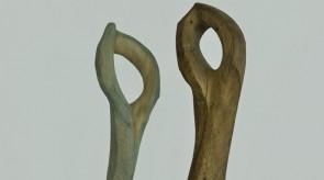 35. Dancers. Oak. h 160,167.