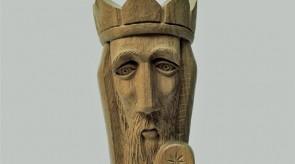73. King David. Oak. h 46.