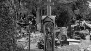 12. Pieta. Antkapinis paminklas. Ąžuolas. h 290, skulptūra h 140.