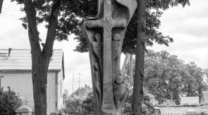 14. Kryžius Žemaičių Krikštui. Ąžuolas. h 500.