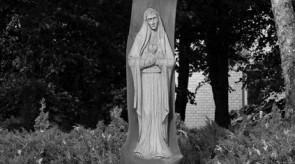 3. Painful. Crucifix. Cross-wayside shrine. Oak. h 700, sculpture h 170.